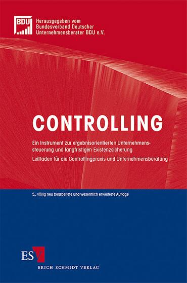 Fachbücher Controlling Bundesverband Deutscher Unternehmensberater e.V. BDU